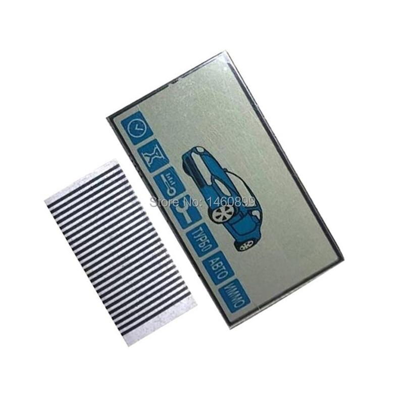 5 PCS/lot E90 Lcd Display Screen Flexible Cable For Starline E90 LCD Remote Control Key Fob E90 Lcd Display + Zebra Stripes