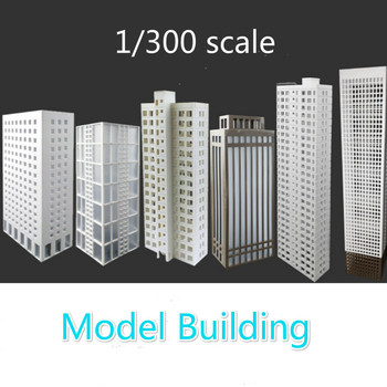 1:300 Scale Building Model Material Sand Table Model Building House Building Office Building Diy Building Finished Building фото