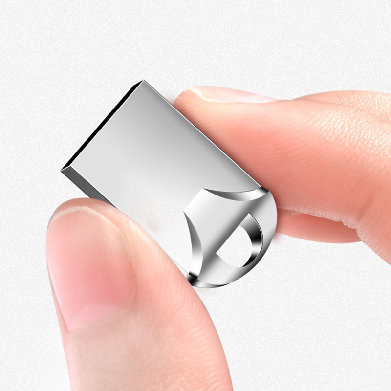 Super Mini Metal Usb Flash Drive 256GB 128GB 64GB 32GB Flash USB Drive Portable 128GB Memory Stick Pendrive Storage Flash Disk