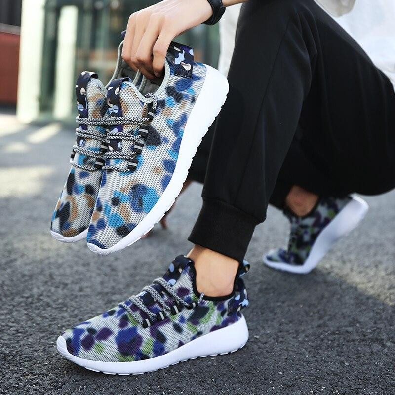 Breathable Lightweight Running Shoes for Men Women cb5feb1b7314637725a2e7: Black Blue
