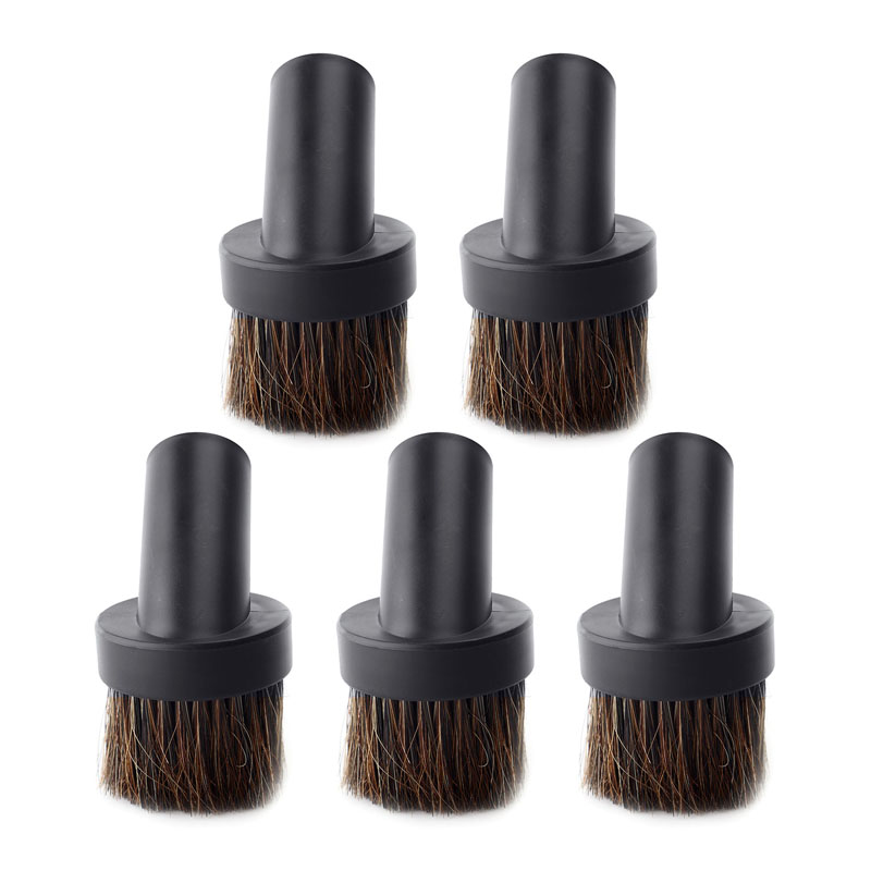 5pcs Round Brushes For Interface Internal Diameter 32mm Vacuum Cleaner Parts  Countertops Wardrobes Bookshelves
