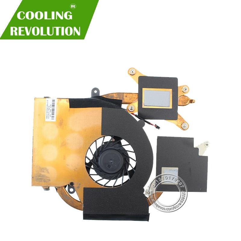Новый оригинальный Охлаждающий радиатор и вентилятор для SAMSUNG RF510 RF511 RF710 BA62-00536C FA57 MA57