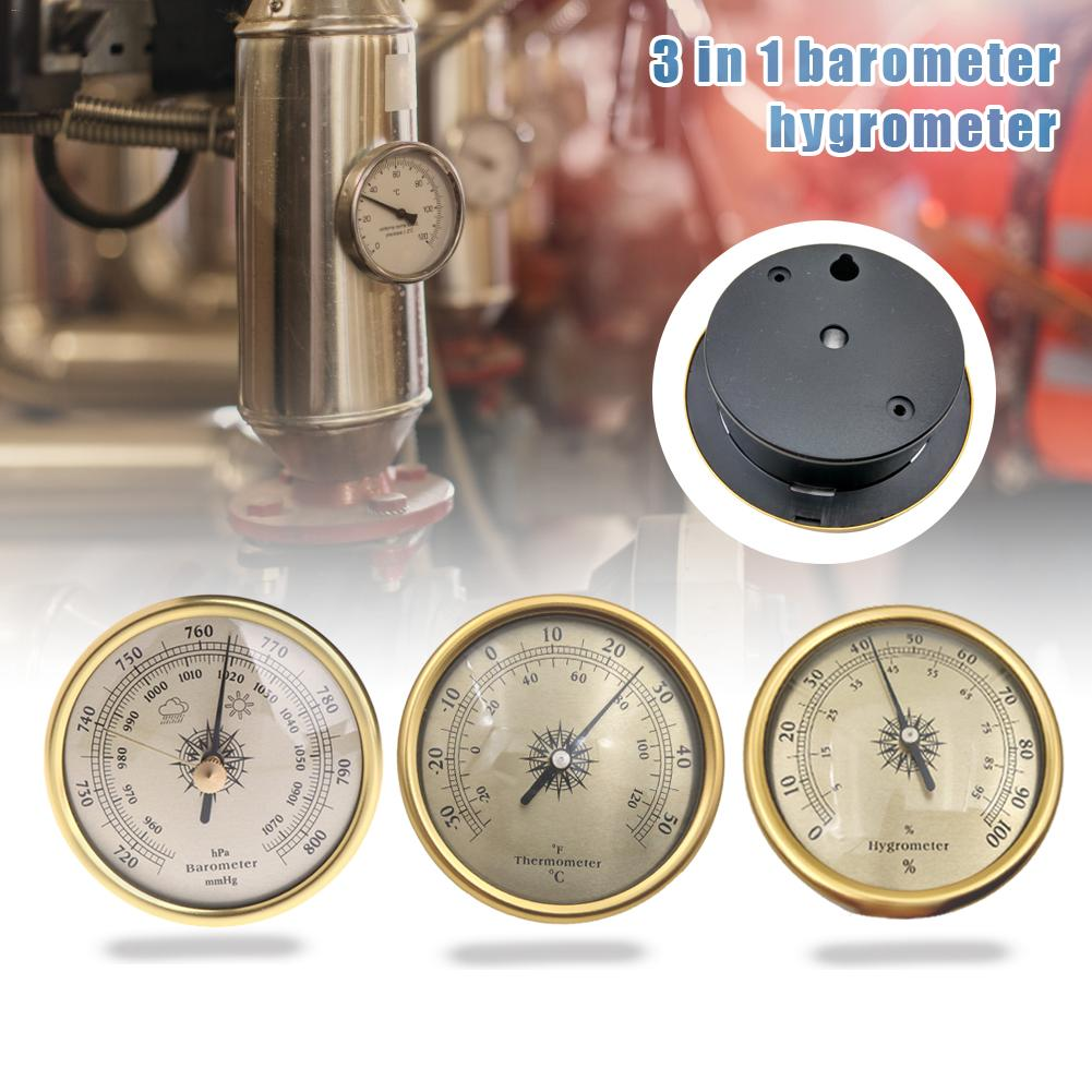 3 шт. датчик давления воздуха 72 мм барометр гигрометр термометр для метеостанции #35