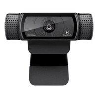 Logitech C920 Pro Web Camera HD Smart 1080p web cam Widescreen Skype Video Call Laptop Usb Camera 15MP