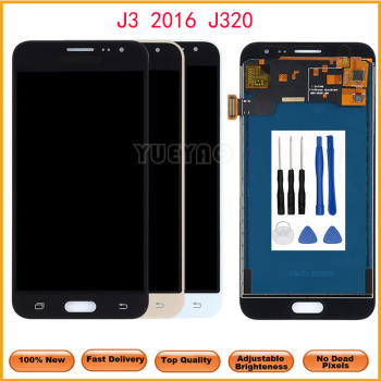 LCD For Samsung Galaxy J3 2016 J320 J320A J320F J320P J320M J320Y J320FN LCD Display Screen Touch Digitizer With Tool