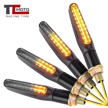 цена на Motorcycle Turn Signals Light Emark Flowing Blinker DRL Lamp 9 LED Stop Signals Turn Indicator For Honda Suzuki Yamaha Kawasaki