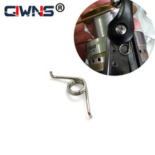 Para daiwa gota de água roda tambor roda fiação engrenagem pesca roda acessórios da roda precisão aço inoxidável mola pressi