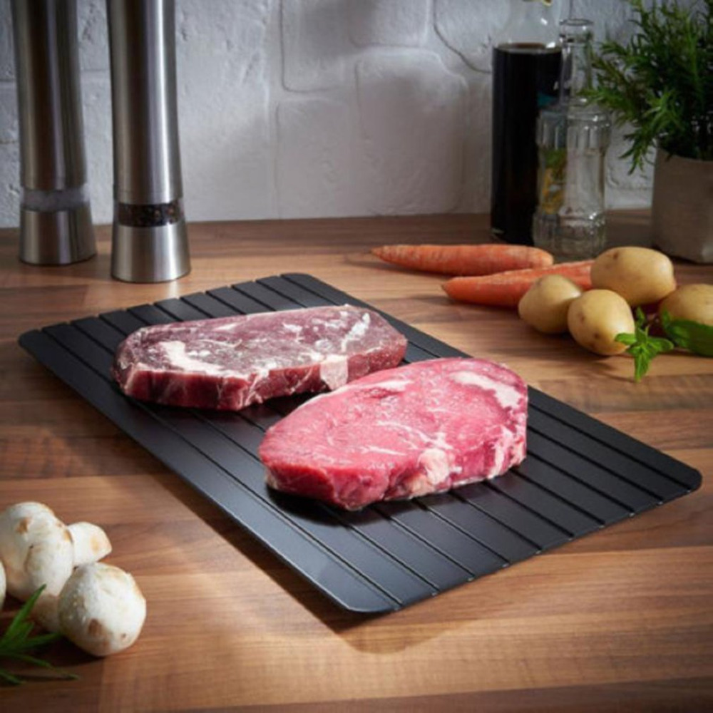 Defrosting Fast Defrosting Tray Thaw Frozen Food Meat Fruit Quick Defrosting Plate Board Defrost Kitchen Gadget Tool