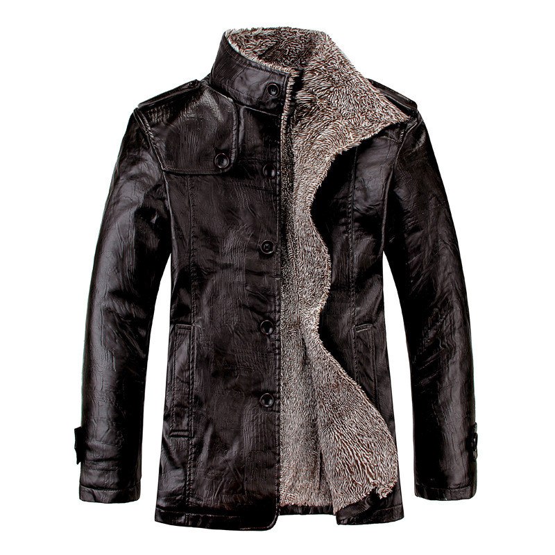 2019 New Men's Leather Jackets Autumn And Winter Casual Motorcycle PU Jacket Biker Leather Coats Brand Clothing Plus Size
