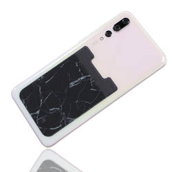 Marbling Lycra наклейки для телефона u-образная эластичность карты банк карта сумка для наушников Держатель для карт настраиваемый