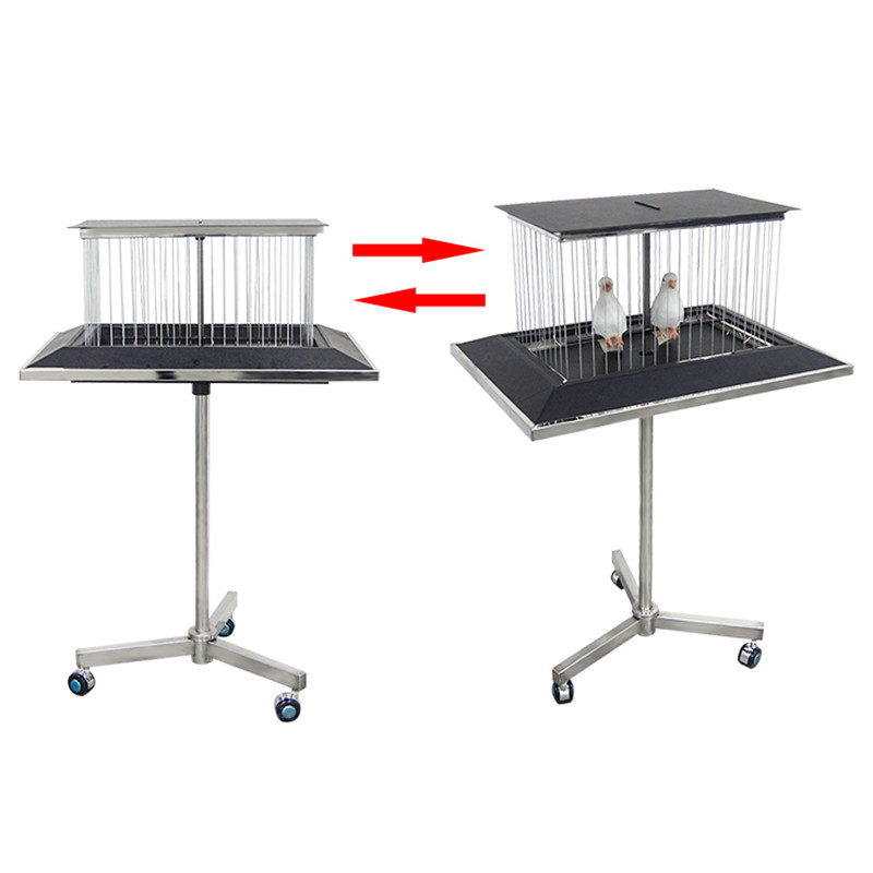 Vanishing Dove Cage Bird Cage Disappearing Table Magic Tricks Professional Magician Stage Gimmick Illusions Props Comedy Magia image
