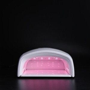 Image 5 - Nuovo Arrivo Rosso del Chiodo della Luce Della Lampada UV 48W Built in 7800mAh Batteria Senza Fili Del Polacco Del Gel Dryer Nail HA CONDOTTO LA Lampada