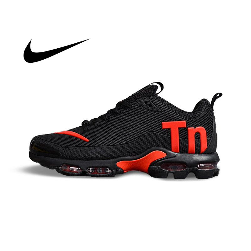Original NIKE AIR MAX PLUS TN Men's Breathable Running Shoes Sports Sneakers Trainers Outdoor Sports Breathable Shoes 2019 NEW