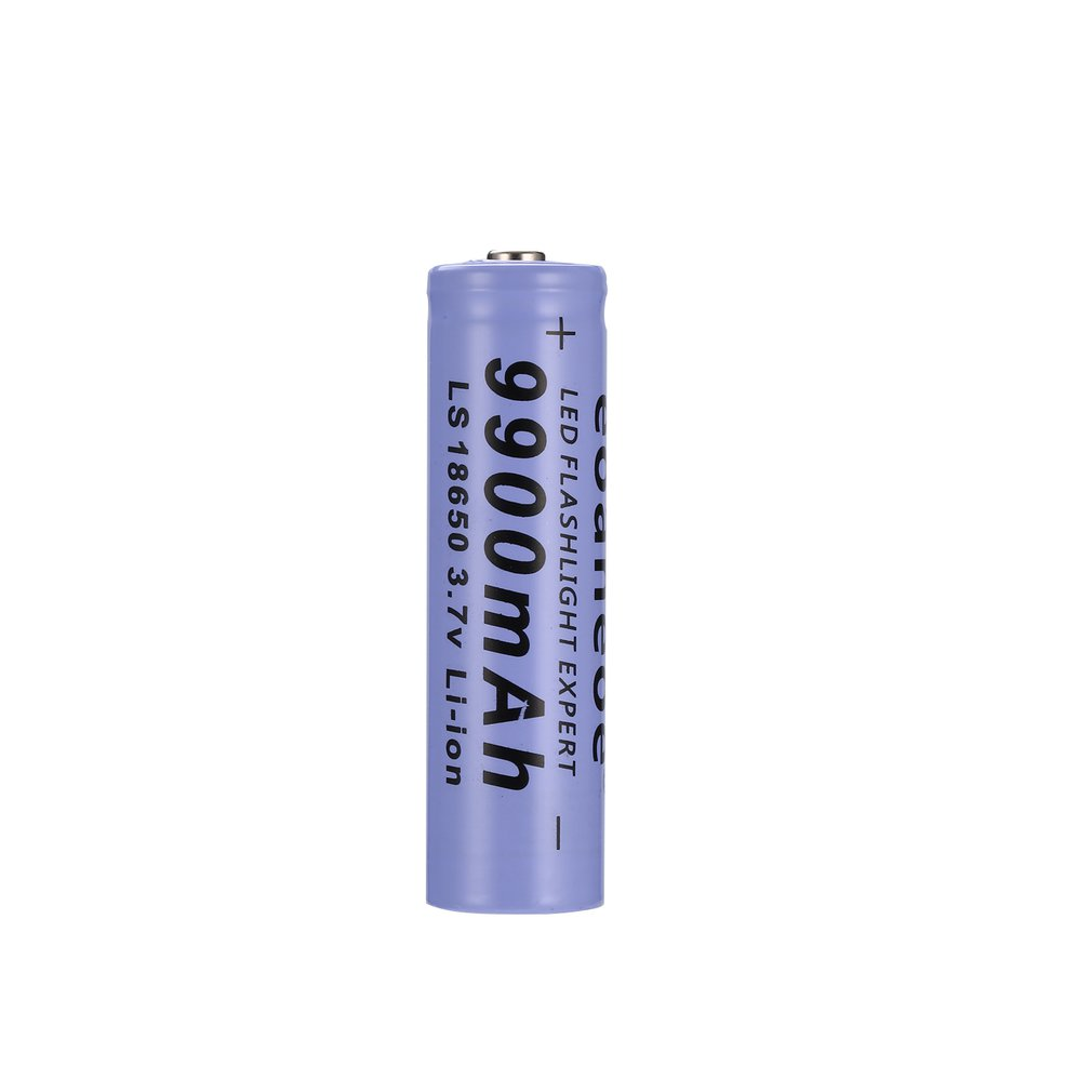1pcs 18650 Lithium Rechargeable Batteries Smart Battery Useful Pre-Charge Batteries 9900mAh 3.7V 1 Pcs