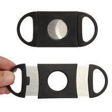 Double Blades Cigar Cutter Sharp Knife Smoking Tools Cigar Accessories Stainless Steel Scissors