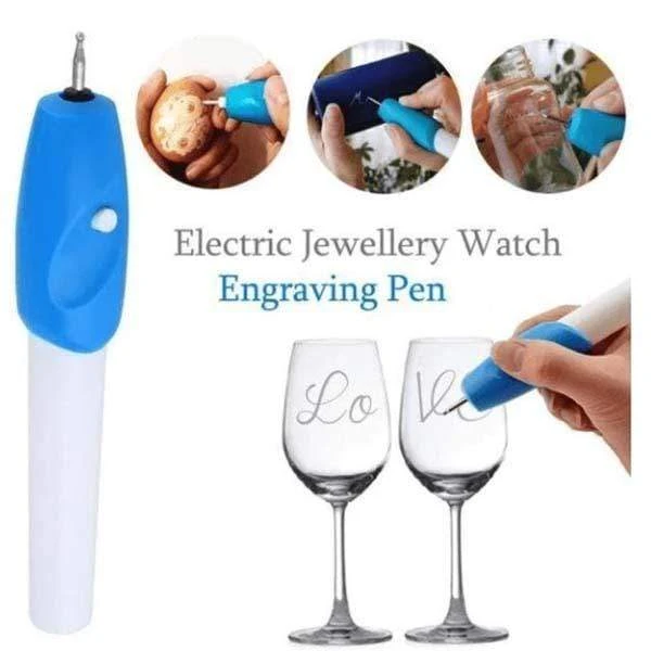 Cordless DIY Electric Engraving Pen Portable Engraving Pen For Scrapbooking Tools Stationery Diy Engrave It Electric Carving Pen