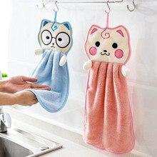 Handkerchief Wipe-Towel Hand-Face Kitchen Washcloths Bathroom-Accessories Terylene Soft