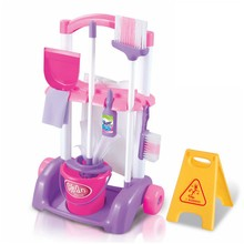 Kitchen-Cleaning-Toys Helper Play Kids Mop-Doll Simulation-Pretend Working-Housework