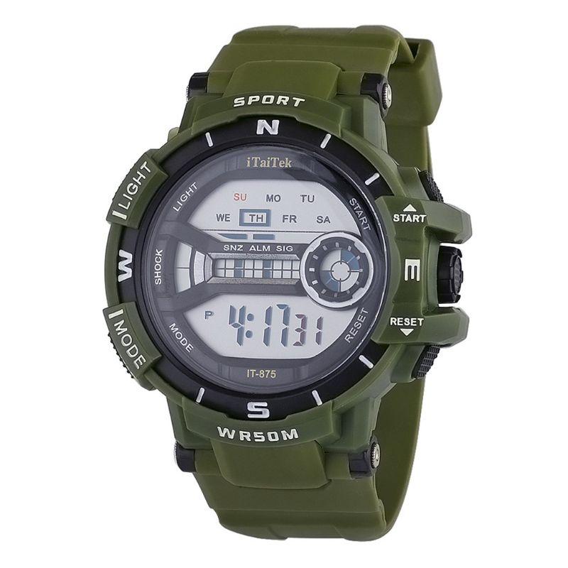 Fashion Men Women New Fashion Sports Multi-function Electronic Watch Couple Popular Waterproof Digital Watches T4MD