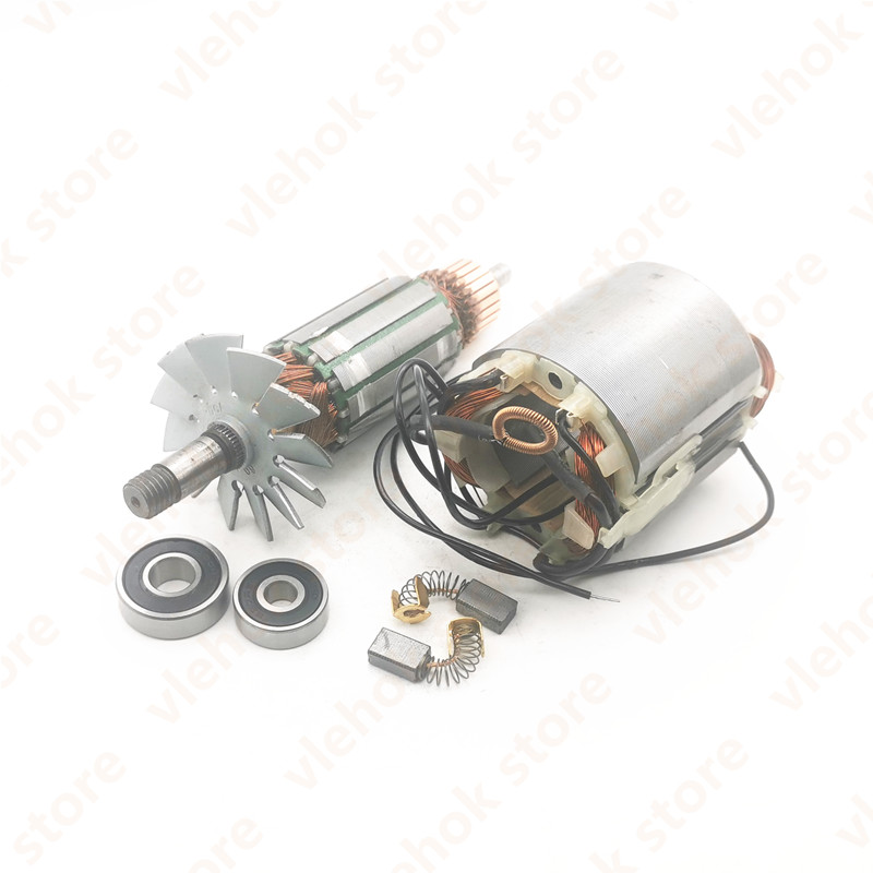 AC220-240V Armature Rotor Stator Field Replace for MAKITA MT190 1923B N1923B 1902 1901 N1900B Portable Planer Motor power tool