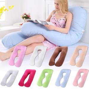 Наволочка для беременных, боковое спальное Белье для беременных, женское постельное белье, u-образная подушка, длинный Многофункциональный ...
