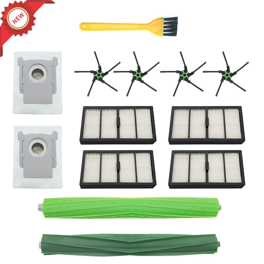 Filtres brosses latérales brosse à rouleau pour IRobot Roomba S9(9150),S9 +(9550) accessoires pour aspirateur Robot Kit de pièces de rechange
