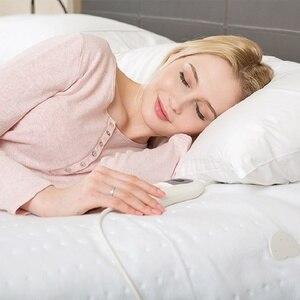 Image 5 - 220V   240V 60W 150*80CM włóknina przenośny zmywalny elektryczny podgrzewacz termiczny podgrzewacz łóżko pojedyncze rozmiar 3 ciepła ue wtyczka