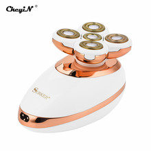 CkeyiN 3 In 1 Rechargeable Women Epilator Female Hair Remover Shaver