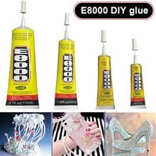 E8000 прозрачный клеевой герметик, клей для DIY телефона граница Алмазная одежда TT-best