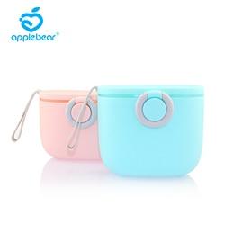 Однослойная однотонная портативная коробка для хранения детских продуктов, коробка для хранения хлопьев, мультяшная коробка для сухого мо...