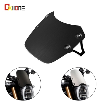 Motorcycle Aluminum Windshield Wind Screen Extention Kit FOR HONDA CB650R Neo Sports Cafe 2019 CB1000R Neo Sports Cafe 2018-2020