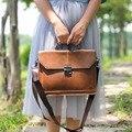 Vintage England Stil Frauen Tasche Horizontale Literarischen Mädchen Handtasche Mode Schulter Messenger Tasche Kleid OL Casual Aktentasche