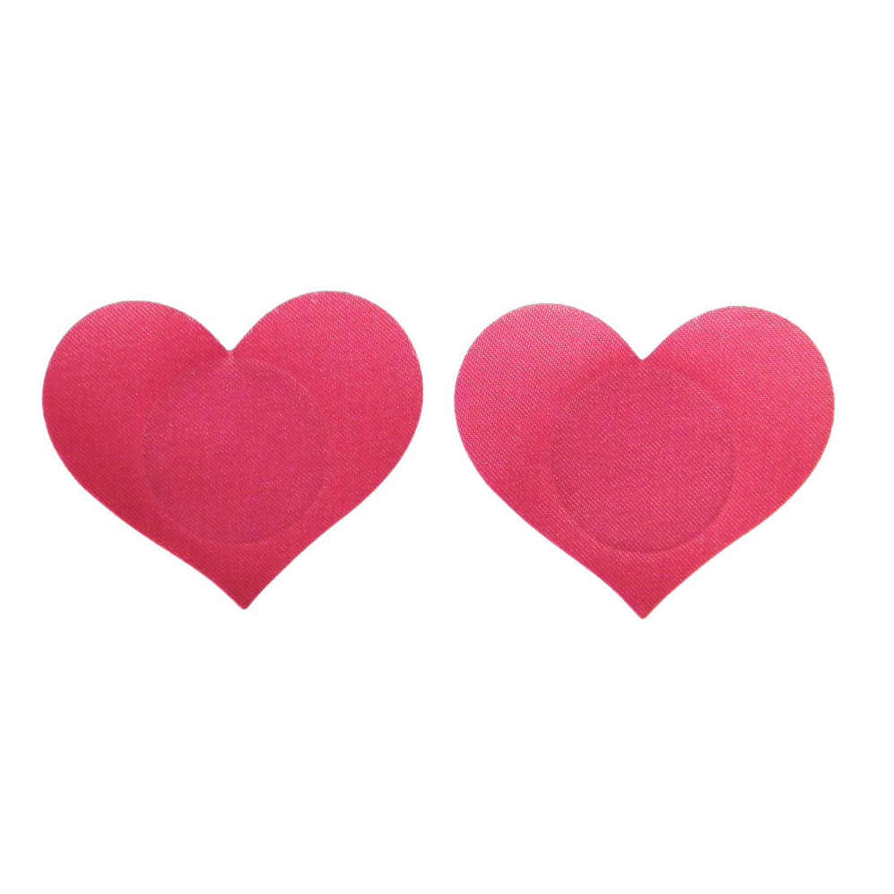 Mini Heart Shape 1 Pair (2Pcs) Breast Pasties Nipple Covers -7 Color-non-sensitizing Adhesive With A Soft Sexy Experience
