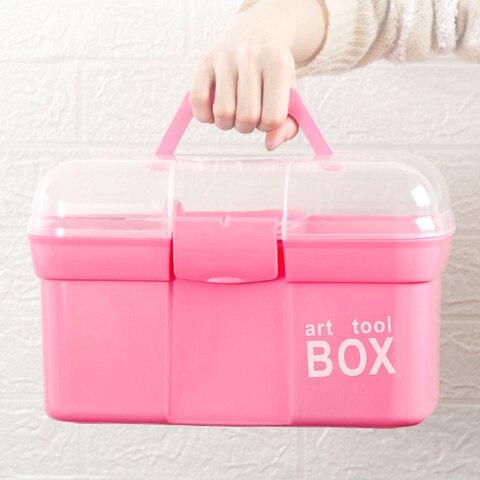 1 pc rosa grande capacidade unha arte