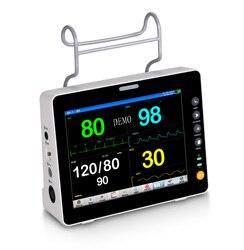 Frete grátis dhl/fedex uso humano 8 polegadas monitor paciente padrão multi-parâmetro
