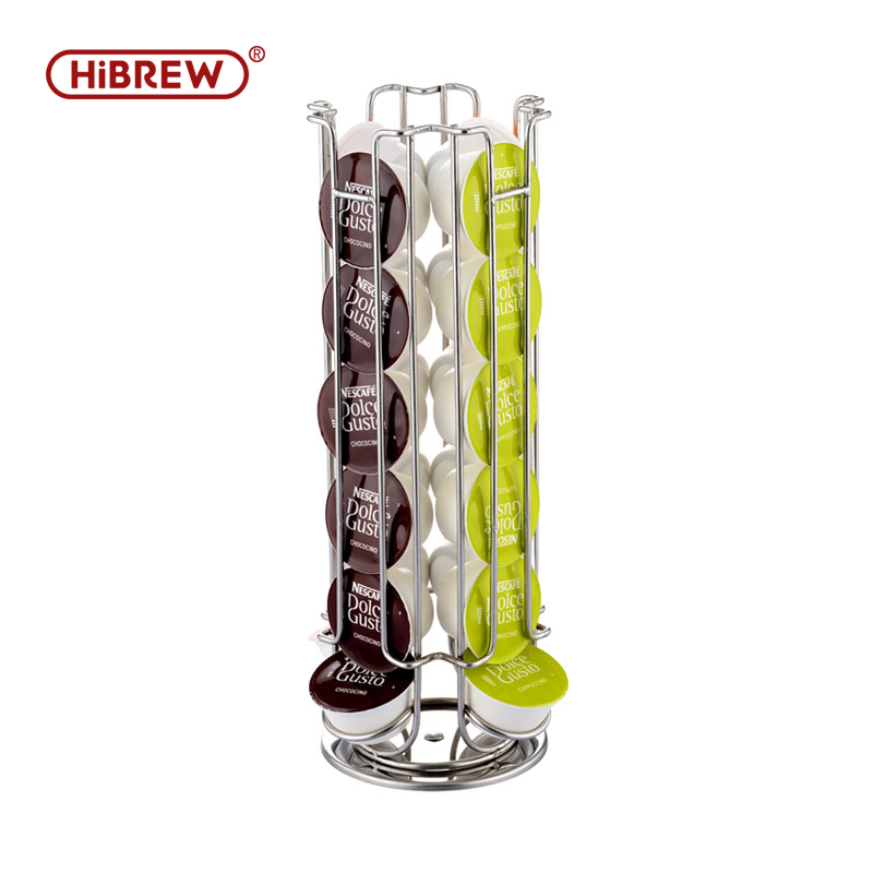 Nestle Dolce Gusto Coffee Capsule Shelf Can Be Rotated To Hold 24 Grains