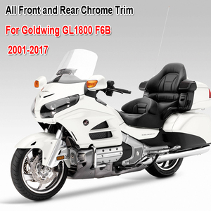 Motorcycle front and rear chrome trim for Honda Goldwing 1800 F6B GL1800 2001-2017 2016 2015 2014 2013 motorcycle accessories