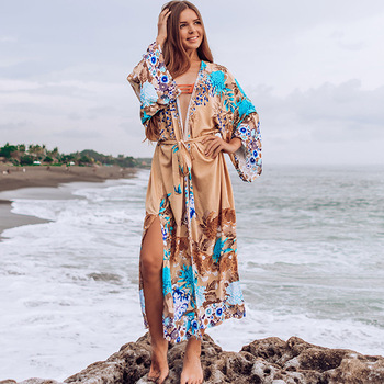 Long Beach Dress Robe