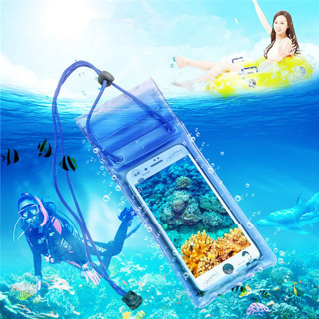 OLAF Universal Waterproof Case For iPhone X XS MAX 8 7 Cover Pouch Bag Cases Coque Water proof Phone Case For Samsung S10 Xiaomi 6
