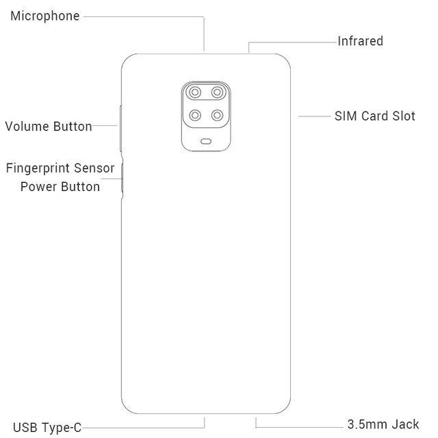 "Global Version Xiaomi Redmi Note 9S 9 S 4GB 64GB Smartphone Snapdragon 720G Octa Core 48MP AI Quad Cameras 6.67"" FHD+ 5020mAh"