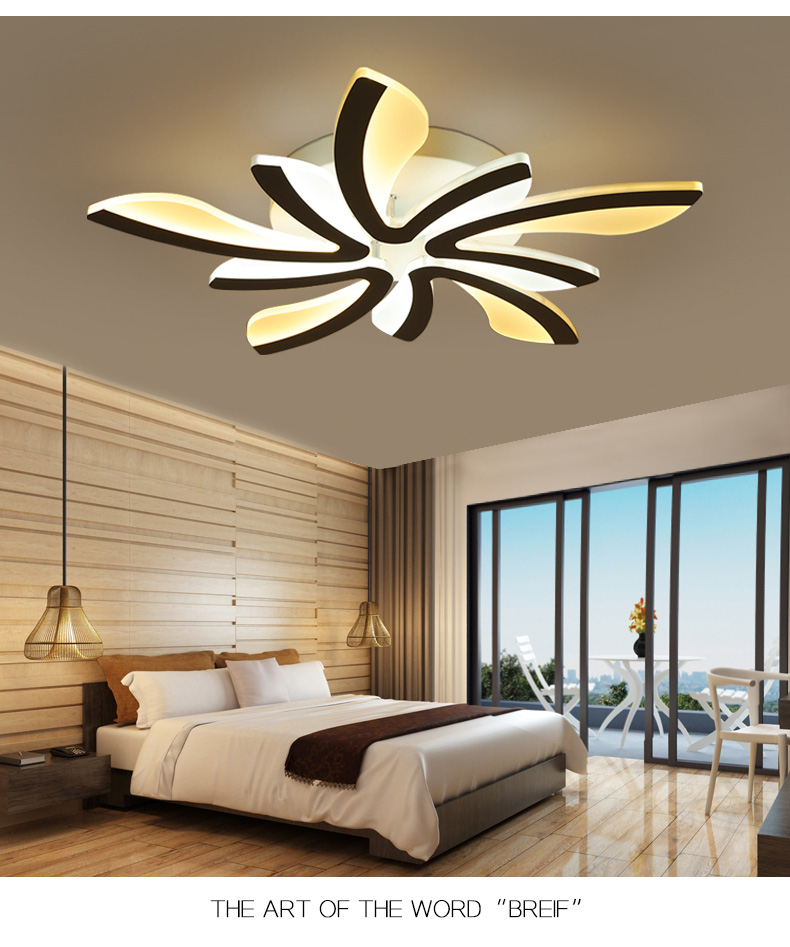 He8951618475445a5b68f99b34832c8734 LED Ceiling Lights Dandelion Indoor Ceiling Lamp Modern Simple Post-Modern Living Room Bedroom Dining Room Study Room