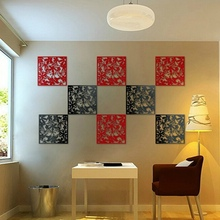 Plastic Partition Divider Curtain Board Butterfly Bird Flower Hollow Out Hanging Screen Restaurant Living Room Home Decoration