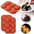 Средняя полусферическая силиконовая форма, 2/3 упаковок, форма для выпечки для изготовления шоколада, торта, желе, купола M ^ пресс, кухонные и...