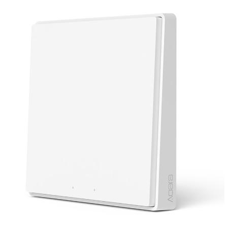 2020 Aqara D1 Smart Wall Switch Zigbee Wireless Remote Control Light Switch Neutral Fire Wire 1/2/3 Button For Mijia HomeKit APP 3