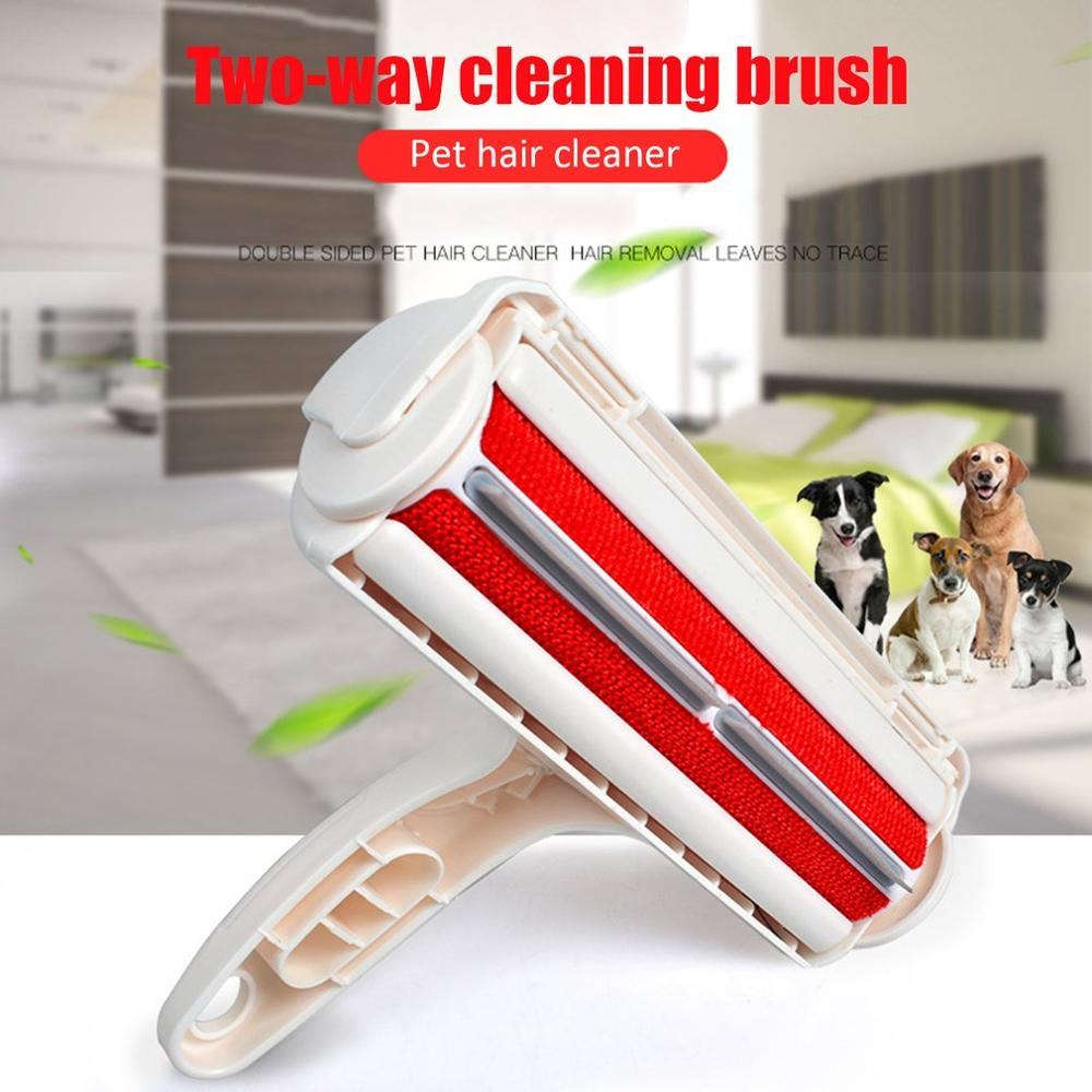 Electrostatic Hair Removal Brusher Clothes Bed Pet Hair Sticker Drum Sticking Hair Removal Brush Dust Removal Brush