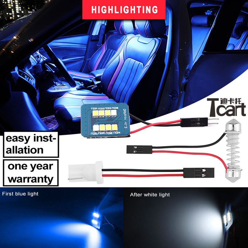 w5w 194 t10 car led Interior Doom Lamp Lights for toyota corolla <font><b>mercedes</b></font> w124 w202 w211 vw golf 4 golf 6 golf 7 Nissan X-trail image