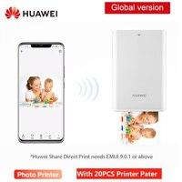 HUAWEI AR Portable Pocket Photo Printer Mini Bluetooth 4.1Printers DIY Photo Phones 300dpi Fast Print with 20 PCS Printer Paper|Printers| |  -