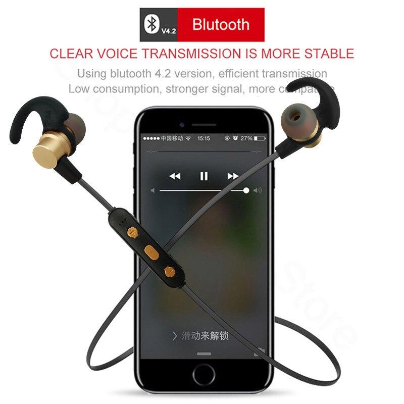 2019 nouveau tws sans fil stéréo magnétique sport Bluetooth 5.0 casque métal écouteurs ecouteur sans fil bluetooth d5