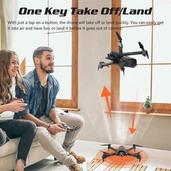 Drone Mondial 4K Drone Quadrocopter Dron Longue Durée De Vol Hélicoptère RC Selfie Drones Avec Caméra HD VS SG901 SG106 XS816 E58 E520