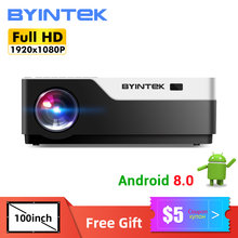 2021 New BYINTEK K20X Home Theater 1080P Full HD LED LCD Digital lAsEr Video 3D 4K Proiettore Beamer (Opzionale Android 10 TV Box)(China)